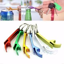 3 Pcs Bottle Opener Key Ring Chain Keyring Keychain Metal Beer Bar Tool Claw Hot