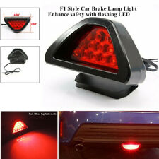 12 LED Car Rear Tail Brake Stop Light 3rd Red Strobe Safety Fog Lamp Bumper Part