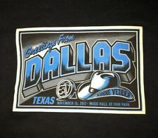 EDDIE VEDDER - Dallas TX T-Shirt Size L - November 15, 2012 pearl jam texas