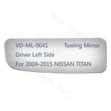 Lower Convex Driver Side Mirror Replacement Glass for 2004-2014 NISSAN TITAN