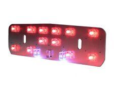 Lambretta Series 1 Li TV and Series 2 BGM LED Rear Light Unit Reflector RED LED