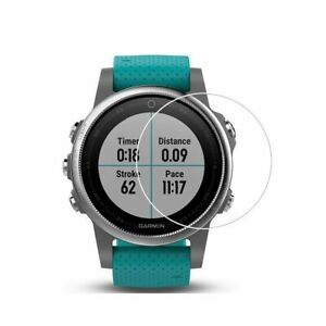 For Garmin Fenix 3 HR Tempered Glass Screen Protector Guard Ultra Clear