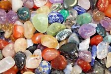 1/4 lb Wholesale Assorted Bulk Tumbled Gem Stone Mix Medium (Chakra, Reiki) 4 oz