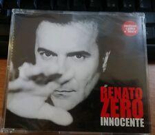 RENATO ZERO - INNOCENTE (scritte rossa) - CD SINGOLO SIGILLATO (SEALED)