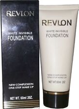 Revlon White Invisible Foundation Tender Peach New Complexion 1 step makeup 60ml