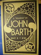 JOHN BARTH ORIGINAL ARTWORK 2 Posters, 2 Mylar Print Transparencies Mint