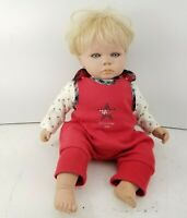 "FAO Swartz 14"" Madame Alexander Tommy Hilfiger Baby Doll Blonde Hair, Blue Eyes"
