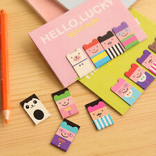 NEW Bear Korean Magnetic Metal Lucky Cute Book Mark Clip School Office Supplies
