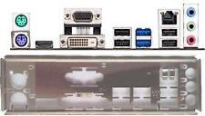 ATX panneau I/O shield Asus h81m plus #557 Io z87k neuf emballage d'origine Backplate bracket NEW