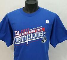 NEW YORK GIANTS SUPER BOWL CHAMPIONS XLvi T Shirt Ny Nfl Football L/LARGE NWOT