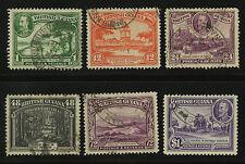 British Guiana  1934  Scott #  210-222  USED Part Set