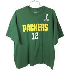 Reebok Football Greenbay Packers Super Bowl Xlv T-Shirt Men's X-Large