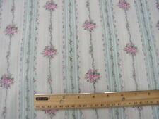 yuwa sträusse aus rosa röschen mit aqua streifen creme dobby 1890 french design puppe