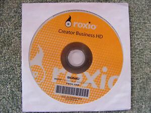 1X Roxio Creator Business HD DVD Sonic Multimedia Burning Software NEW UNUSED