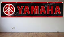 Yamaha Banner Flag 2X8Ft ATV ATC Motorcycle Racing Banner Flag Garage Wall Decor