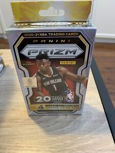 Brand New Factory Sealed 2021 Panini Prizm Basketball Cards - Hanger Box