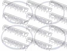 Repair Kit, steering gear FEBEST SET-003