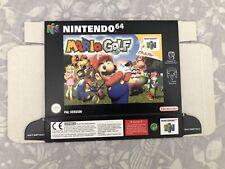 N64 Mario Golf New Unfolded Box