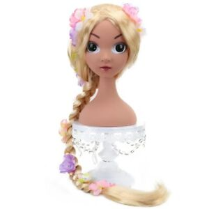 US Rapunzel Wig Childre None Lace cosplay wig Mixed Blonde For child