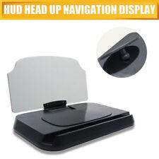 Universal Car HUD Head Up Display GPS Navigation Smartphone Stand Holder Mount