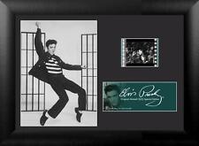 "ELVIS PRESLEY Jailhouse Rock 1957 FRAMED MOVIE PHOTO and FILM CELL 5"" x 7"" New"