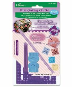 🍀 Clover Puff Quilting Clip Set  Small Quilting Sewing Craft