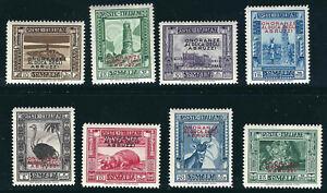 Italie Somalie 156-63 SAS 185-92 Arbuzzi Édition MNH 1890 VF1934 Scv