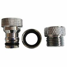 Kinetic ADAPTOR AERATOR KIT + 15mm BSP Thread & Snap On Spout, DR Brass Material