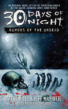 Rumors of the Undead: Rumours of the Undead Bk. 1 (30 Days of Night), Niles, Ste