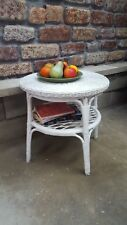 Wicker Tranquility End Table