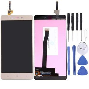 For Xiaomi Redmi 3 / 3S LCD Screen Touch Digitizer Glass Part GOLD