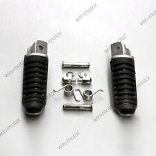 Front Footrest Foot Pegs For Suzuki Hayabusa GSX1300R Bandit GSF650 1250 B-King