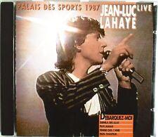 "JEAN-LUC LAHAYE - RARE CD LIVE ""PALAIS DES SPORTS 1987"""