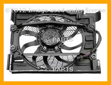 BMW 528i 540i Behr Auxiliary Fan Assembly with Shroud for A/C Condenser