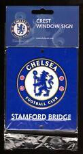 CHELSEA F.C. OFFICIAL METAL CREST WINDOW SIGN Stamford Bridge