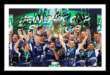 LEINSTER 2012 HEINEKEN CUP WINNERS AUTOGRAPHED SIGNED & FRAMED PP POSTER PHOTO