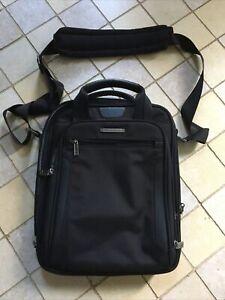 NWOT Briggs & Riley Travel ware -Laptop Briefcase Travel Shoulder Bag - Black