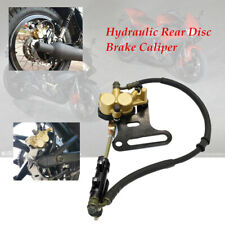 Motorcycle Hydraulic Rear Disc Brake Caliper w/Master  System For KLX BBR CR CRF