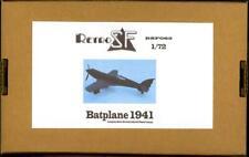 RetroKits Models 1/72 BATPLANE 1941 VERSION Resin Kit