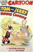 TENNIS CHUMPS Movie POSTER 27x40 Tom and Jerry