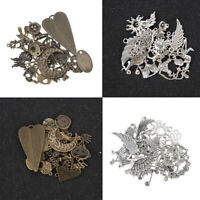 Vintage 100g/pack Jewelry Making Mixed Charms Pendants Random Shape DIY Crafts