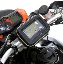 """Nue Motorrad /Biker Halterung + Wasserdichte Tasche für Navi Navigation 5"""""""