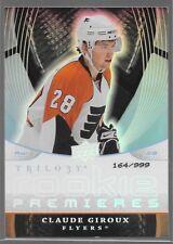 08/09 Trilogy Rookie Premieres RC Claude Giroux /999 117 Flyers