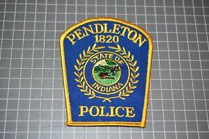 Pendleton Indiana Police Patch (US-Pol)