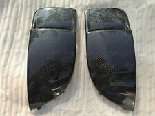 Carbon Fiber Driving Fog Light Covers for 2004-2005 Subaru Impreza WRX STi blob