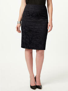 NEW Ladies Womens Studio 8 Phase Eight ALBA PENCIL SKIRT Size 12,14,16,18 BLACK