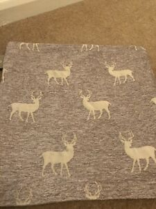 Stag Cushion Cover Dusky Pink/ Beige 18""