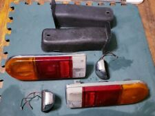 Complete Set L/R Triumph Spitfire 1500 Lucas Tail Lights & License Plate Lamps