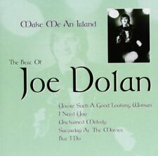 "Joe Dolan ""Make Me An Island"" The Best Of NEW & SEALED 1st Class Post From UK"