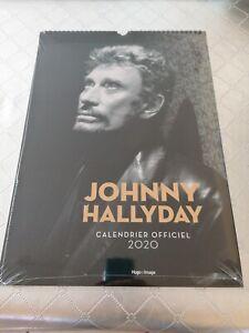 Calendrier mural Johnny Hallyday 2020 Neuf Sous Visiter d'origine...!